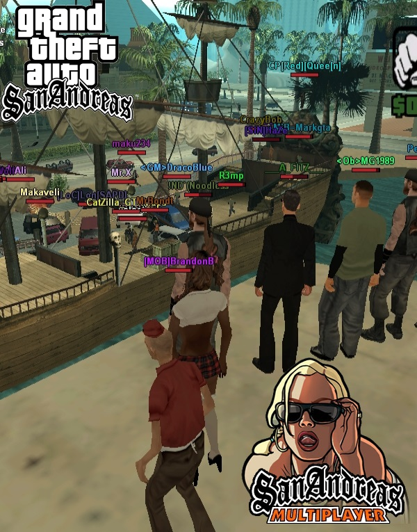Grand Theft Auto San Andreas: Multiplayer