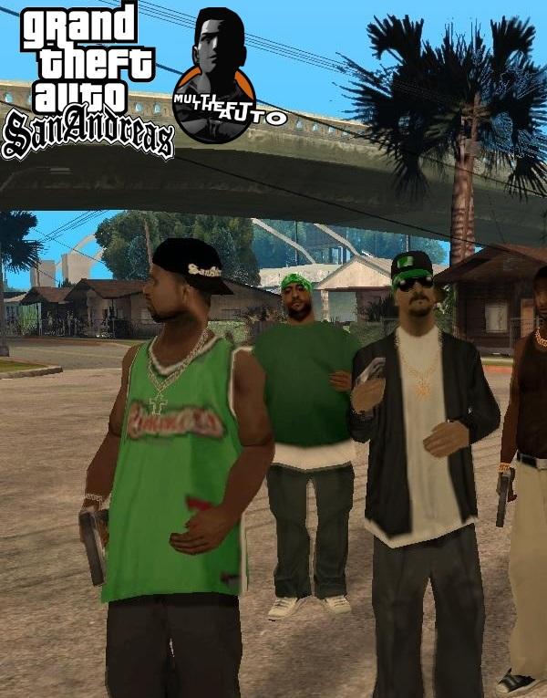 Grand Theft Auto San Andreas: Multi Theft Auto