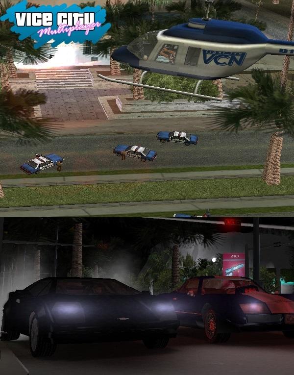 Grand Theft Auto Vice City: Multiplayer